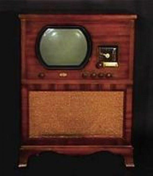 Dumont-Antique-Vintage-Console-Television-TV-Set