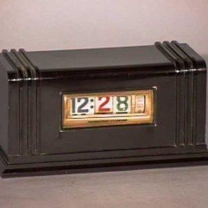 Penwood-Bakelite-Art-Deco-Digital-Clock