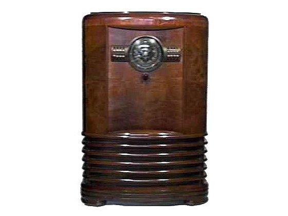 Zenith 9S367 Art Deco Shutterdial Radio