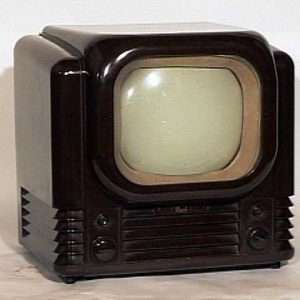 Bush TV12 British Streamlined Television