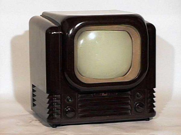 Bush TV12 British Streamlined Television