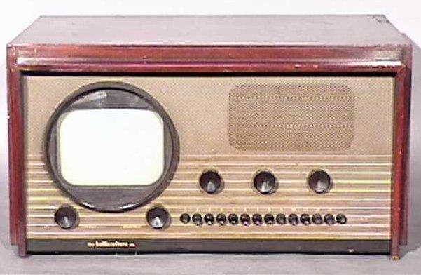 Hallicrafters-Model-505-Antique-Vintage-Television-Set-TV