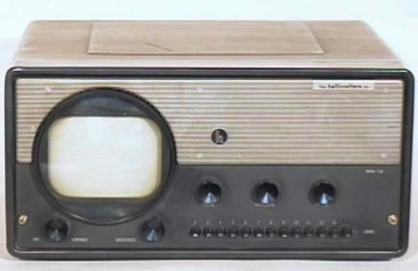 Hallicrafters-Model-T-54-Metal-Antique-Vintage-Television-Set-TV