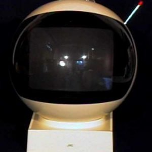 JVC-VideoSphere-Model-3240-Space-Helmet-Television-TV-Set