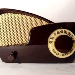 Wanted Philco 49-501 boomerang bakelite radio
