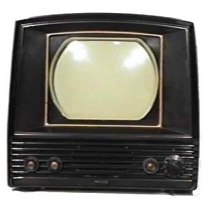 Philco-Model-50-T702-Bakelite-Antique-Vintage-Television-Set-TV