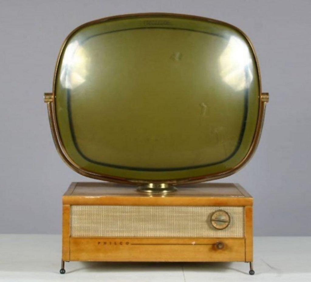Philco Predicta Holiday Swivel Screen Television Blonde