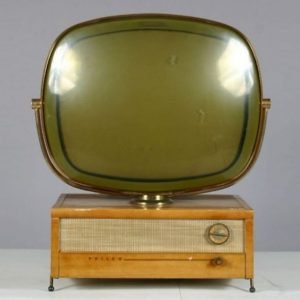 Philco Predicta Holiday Swivel Screen Television Blonde