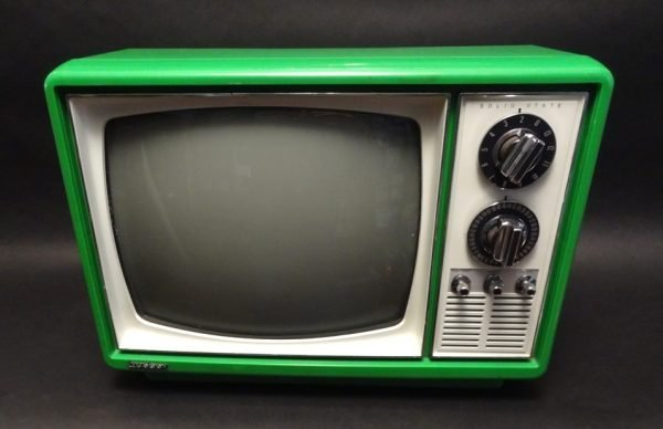 Quasar-1970s-Space-Age-Television-TV-Green-1