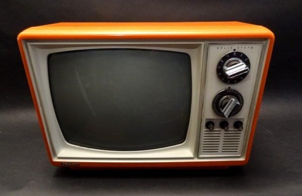 Quasar-1970s-Space-Age-Television-TV-Orange-1