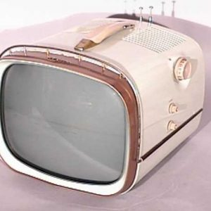 RCA-Victor-Model-14-PD-8054-Deluxe-Portable-Antique-Vintage-Television-Set-TV