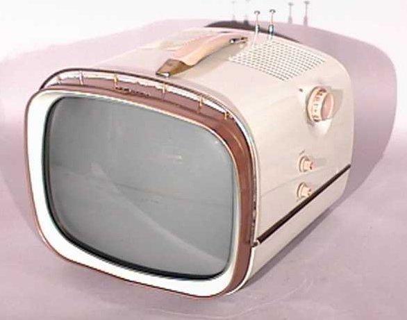 RCA-Victor-Model-14-PD-8054-Deluxe-Portable-Antique-Vintage-Television-Set-TV