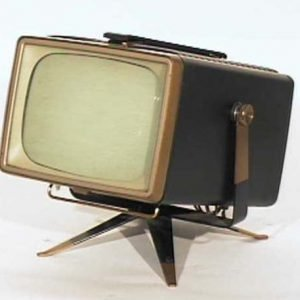 RCA-Victor-Model-8-PT-7032-Mini-Swivel-Antique-Vintage-Television-Set-TV