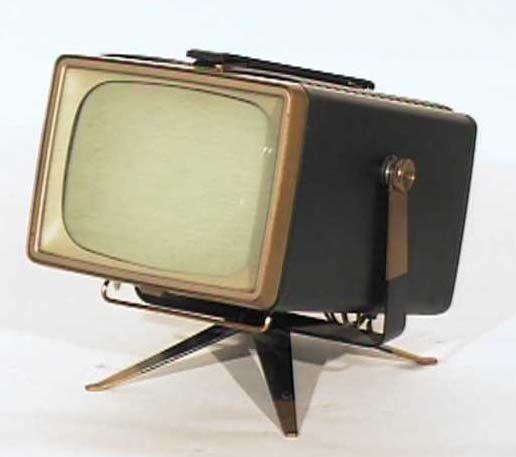 RCA-Victor-Model-8-PT-7032-Mini-Swivel-Antique-Vintage-Television-Set-TV