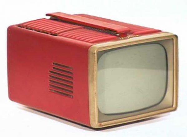 RCA-Victor-Model-PT-7030-Metal-Portable-Antique-Vintage-Television-Set-TV