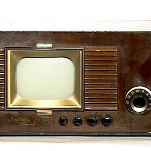 Raytheon-Belmont-Model-7DX21-Antique-Vintage-Television-Set-TV
