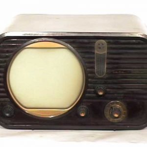 Teleking-Bakelite-Antique-Vintage-Television-Set-TV