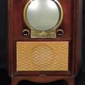 Zenith-1950-Porthole-Console-Antique-Vintage-Television-Set-TV