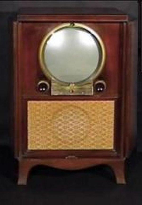 Zenith-1950-Porthole-Console-Antique-Vintage-Television-Set-TV