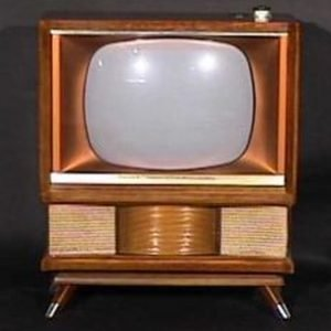 Philco-Predicat-Miss-America-Console-Antique-Vintage-Television-Set-TV