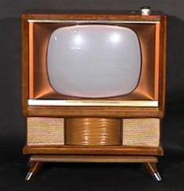 Philco-Predicat-Miss-America-Console-Antique-Vintage-Television-Set-TV