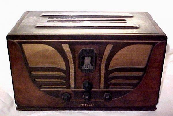 Philco model 45 Butterfly Radio
