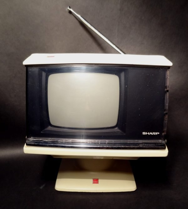 Sharp Model 3S-111W Space Age Vintage Television