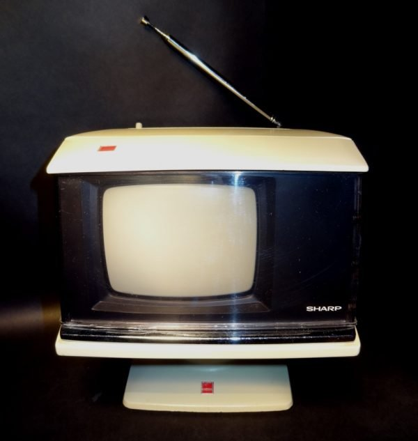Sharp Space Age Swivel 1970s Television