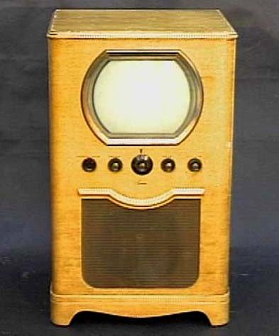 Antique Sentinel Console Television Vintage TV
