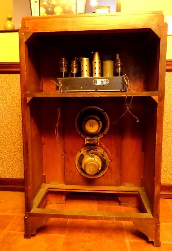 Zenith Aviatrix art deco console radio